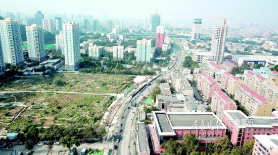 解放东路将成为连接中央商务区与老城区的主干道。