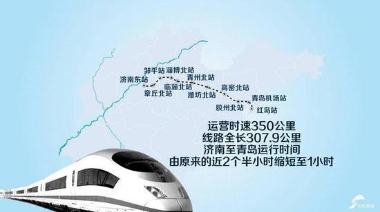 济南新东站到机场将设摆渡火车 核心区将设七个地铁站