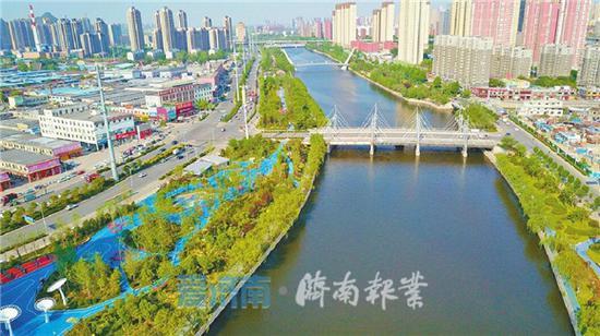 """""""数读""""小清河 看城区段百年一遇防洪能力如何练成"""