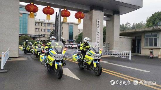 今晚起枣庄市中区420余名辅警将开启夜间巡逻