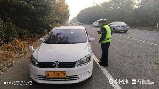 肥城交警:集中开展教练车专项整治行动