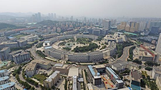 济南高新区。视觉中国 资料