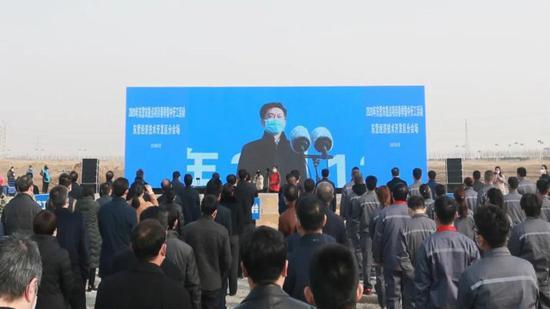 东营经济技术开发区70个项目开工