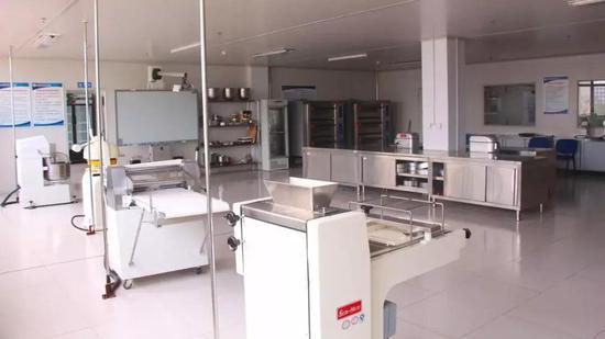 ▲焙烤食品加工实训室