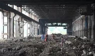 2016年7月,轧钢厂内的设备已被全部拆除