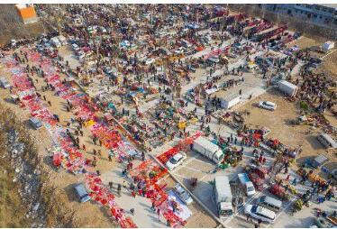 柳埠的年集 照片来自网络