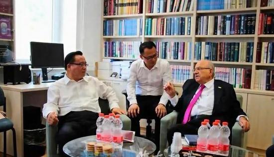6月13日—20日,孙述涛率队赴芬兰、以色列访问。