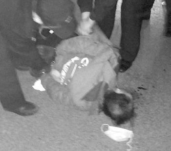 嫌疑人被抓获。警方供图
