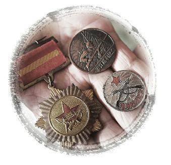 杨茂森老人的奖章、纪念章