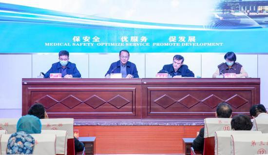 梦想在实干苦干中成真丨 禹城市人民医院六届四次职工代表大会隆重召开