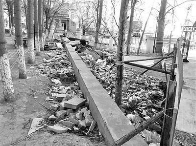 3月21日垃圾仍未清理干净