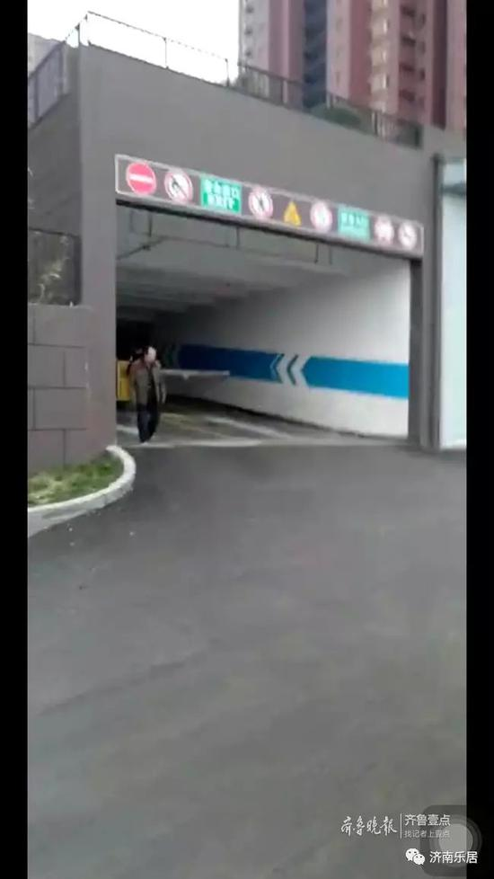 中建新悦城二期西车库入口