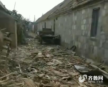 威海文登遭龙卷风灾害 约167户房屋受损9名村民轻伤