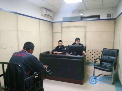 崔某已被黄岛警方依法刑事拘留。(警方供图)