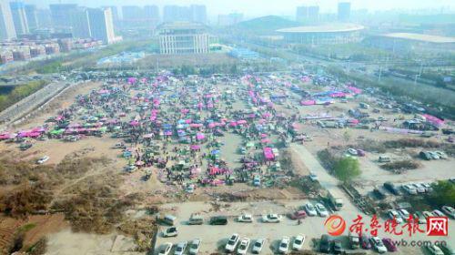 百年邢村集清明节前赶完最后一集。