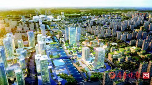 济南东站片区规划图