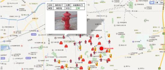 这是智慧消防的数据可视化。