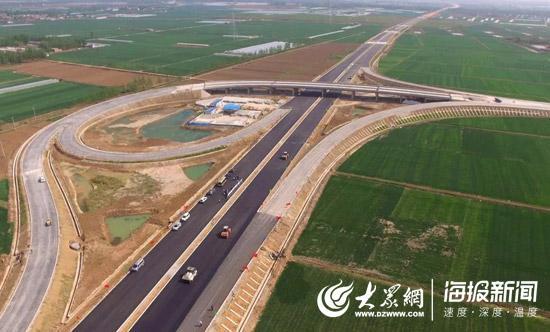 今年山东省将有9条高速公路建成通车,其中新建7条、改扩建2条