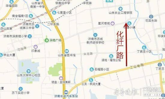 济南斥资11亿元提升四条道路 化纤厂路 水屯北路