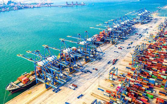 2月份山东港口完成货物和集装箱吞吐量1.15亿吨