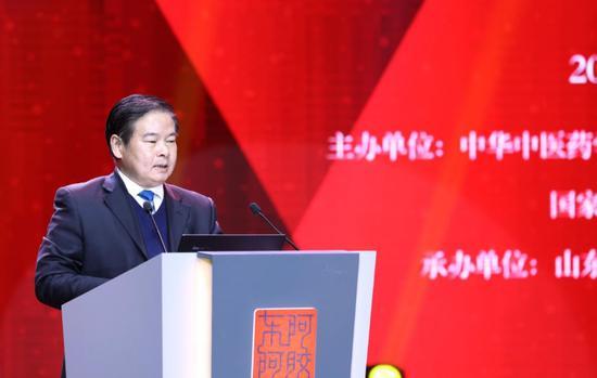 聊城市人民政府副市长洪玉振发表讲话