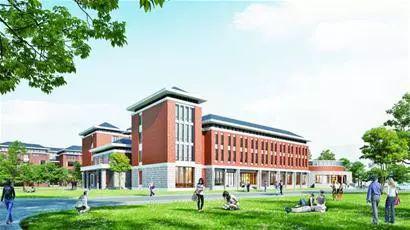 青岛农业大学平度校区效果图。