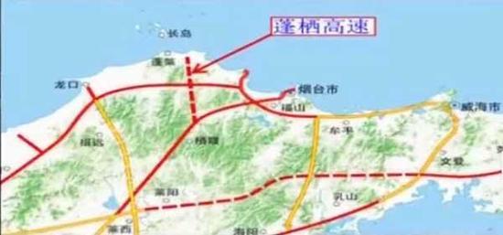 蓬栖高速公路示意图