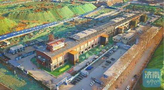 对老二钢厂房改建