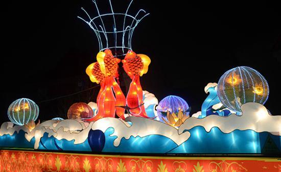 活动时间:灯光秀每晚七点半和八点半各一场