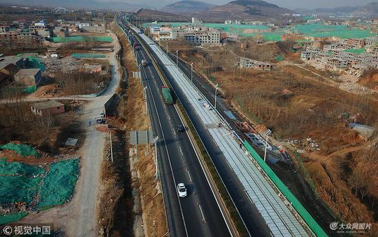 厉害 全球首条高速光伏公路现身济南图片