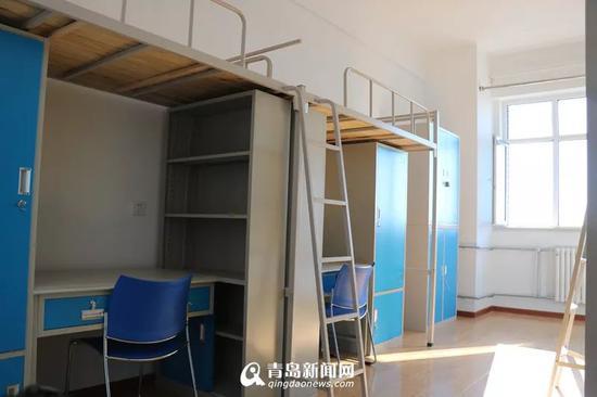崭新的学生宿舍