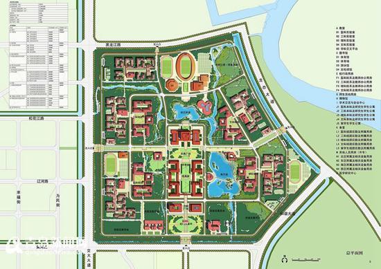 青大胶州校区平面图-青岛大学胶州校区开建 投资百亿 可容纳3万师生