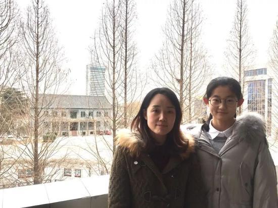 李斌老师和宋宸宁