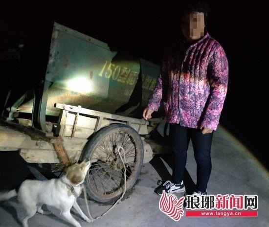 嫌疑人偷走的狗被民警找到并返还受害人。