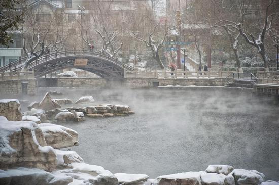 张凯翔:冬雪中的济南3