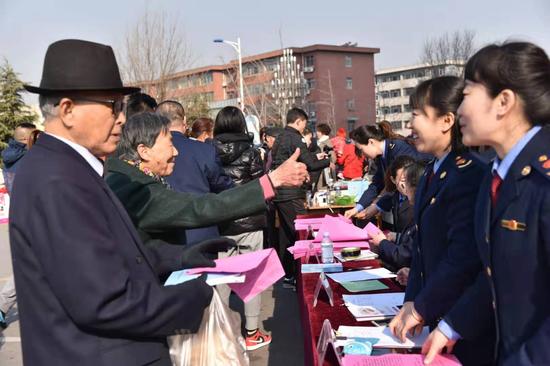 沂源县3•15国际消费者权益日活动