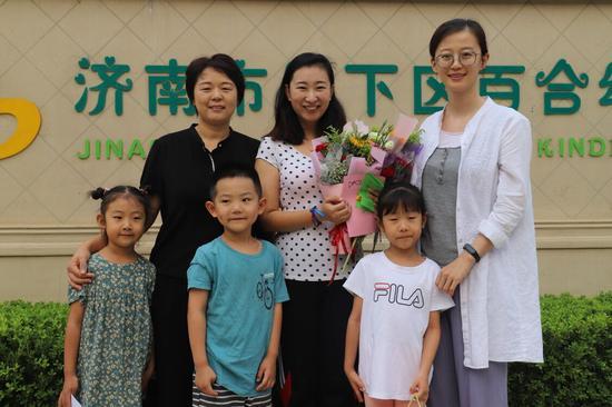 济南市历下区百合、东城御景幼儿园举办教师节主题活动