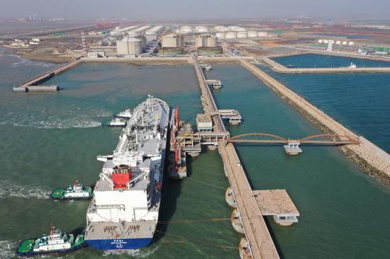 中国石化首个LNG接收站安全平稳运行五周年