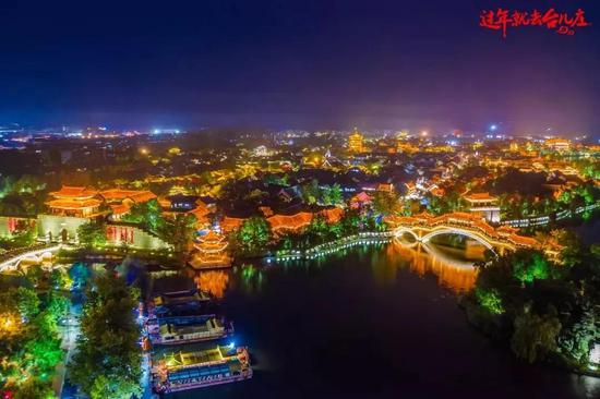 △古城夜景 摄影:摄影师么么锐