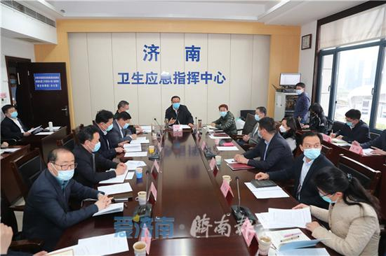济南市疫情防控工作视频调度会议召开 孙述涛出席