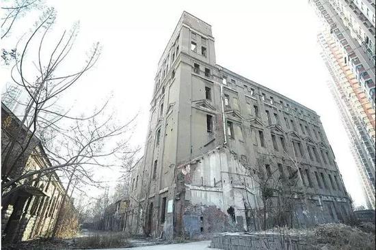 成丰面粉厂制粉楼(改造前)(图片来源于大众网)