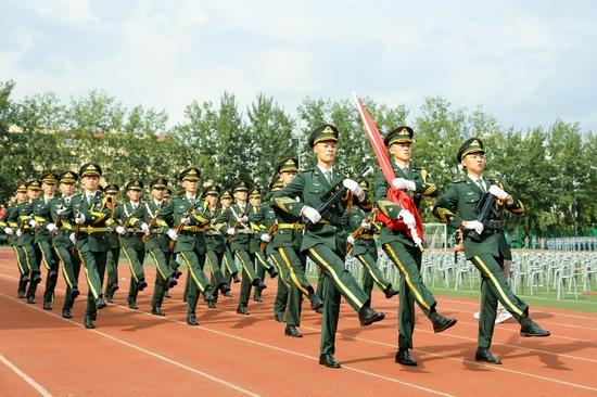 分列式国旗护卫队
