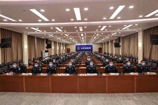 新浪   山东省监狱管理局举行 首个中国人民警察节庆祝活动