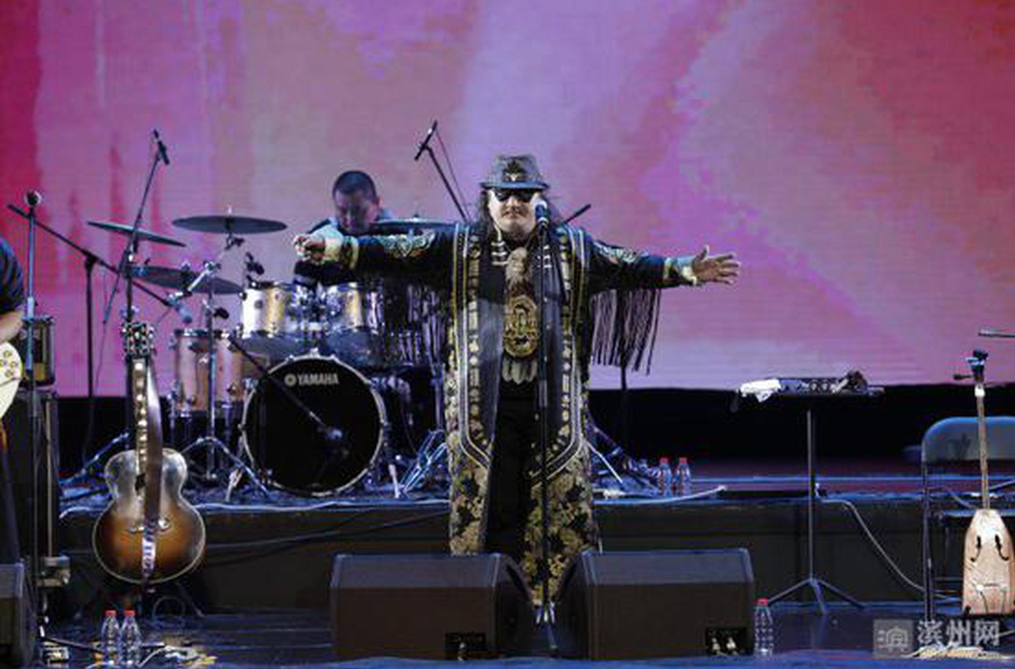 杭盖乐队《北归》巡演来到滨州