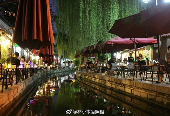 林小木爱照相:水边放松心情