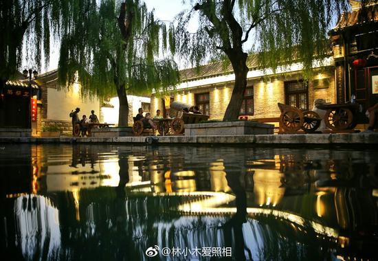 林小木爱照相:水边饮茶