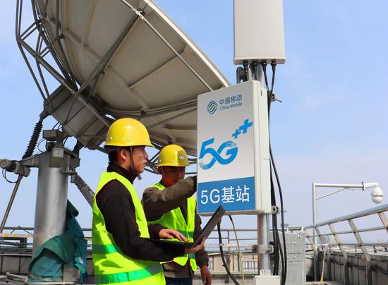 山东移动加快5G基站建设
