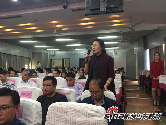 淄博职业学院招生办公室主任 刘会华