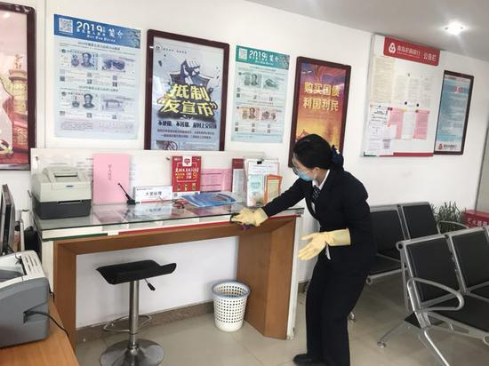 青岛农商银行城阳支行全力打好新型肺炎疫情狙击战
