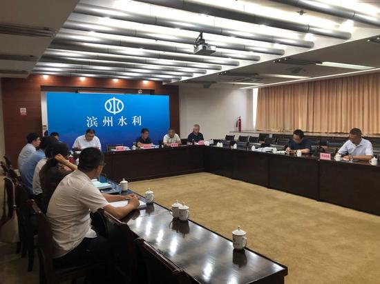 市水利局组织召开引黄灌区农业节水工程初步设计报告评审会